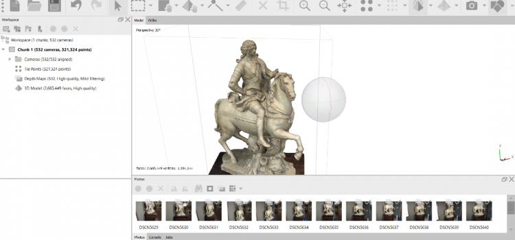La grandiosa macchina. Rivive la statua equestre di Francesco III d'Este. La realtà aumentata per la storia di un monumento estense perduto